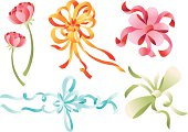 Ribbon Flower Gift (Vector)