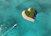 Heart Shaped Paradise Island