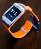 Orange Galaxy Gear Smartwatch