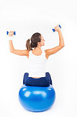 Bench Dumbbell Training
