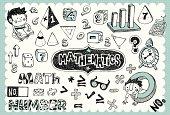 Hand drawn mathematics set 01