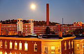 Full Moon Over Lowell