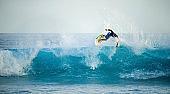 Extreme sport- surfing.