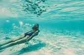 Discovering underwater world