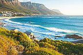 Beach in Capms Bay, Cape Town, South Africa