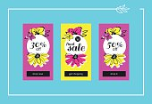 Final Flower Sale Web Banners Set