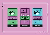 Total Sale Web Banners Set