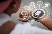 Using smart watch for omnichannel
