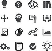Idea Workflow Icons - Acme Series