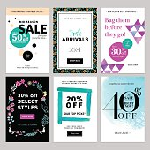 Social media banner templates bundle