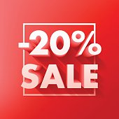 Sale offer poster banner vector illustration.
