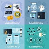 Quantum Processes 2x2 Design Concept
