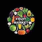 Polygonal vegetables design