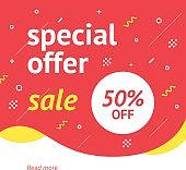 Special offer banner.