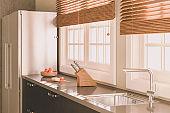 Sunlit Modern Kitchen