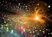 Elementary particles explosion