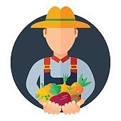man farmer icon