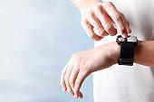 Finger Touching Smart Watch