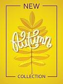 Seasonal Autumn poster