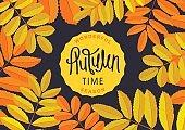 Floral Autumn poster