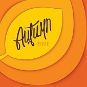 Autumn Time stylized Background