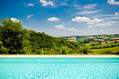 swimming pool in italy marche