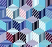 Geometric abstract pattern.