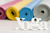 Rolled Yoga Mats