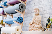 Yoga Studio and Meditation Class Decor