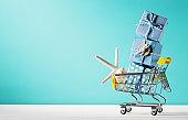 Summer shopping theme