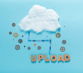 Cloud computing concept image