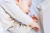 Sweet sleep of baby