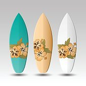Vector Surfboards Design Template
