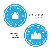 Smart Home, Internet Of Things Design Concept