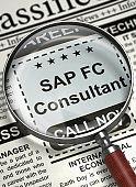 SAP FC Consultant Job Vacancy. 3D