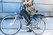 Fashion and bike riding