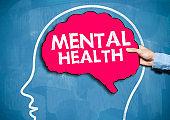 Mental Health / Blue board concept (Click for more)