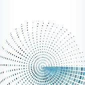 blue check rotate pattern