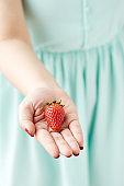 Take a strawberry