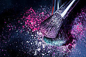 Eyeshadow and Make-Up Brush
