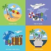 World Of Tourism Concept