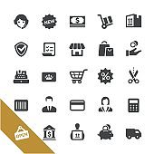 Shopping and Buying Icons - Select Series