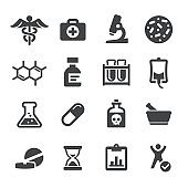 Medicine and Research Icons - Acme Series