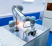 intelligence machine at industrial manufacture factory