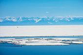 Spingtime on lake Baikal