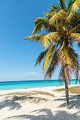 caribbean beach in Varadero in Cuba
