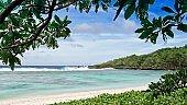 Wing Beach, Saipan on a sunny day