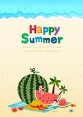 여름 일러스트