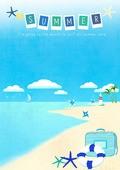summer illust