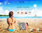 Summer Web Templates